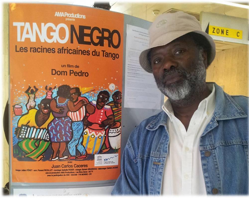 Dom Pedro, le réalisateur angolais du film Tango Negro. ©  Reelhouse production