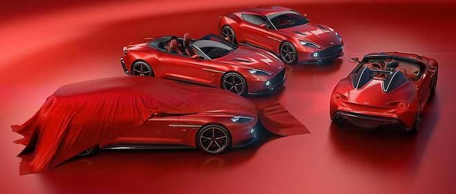 Aston Martin complète la collection de ses Vanquish Zagato avec les Shooting Brake et Speedster