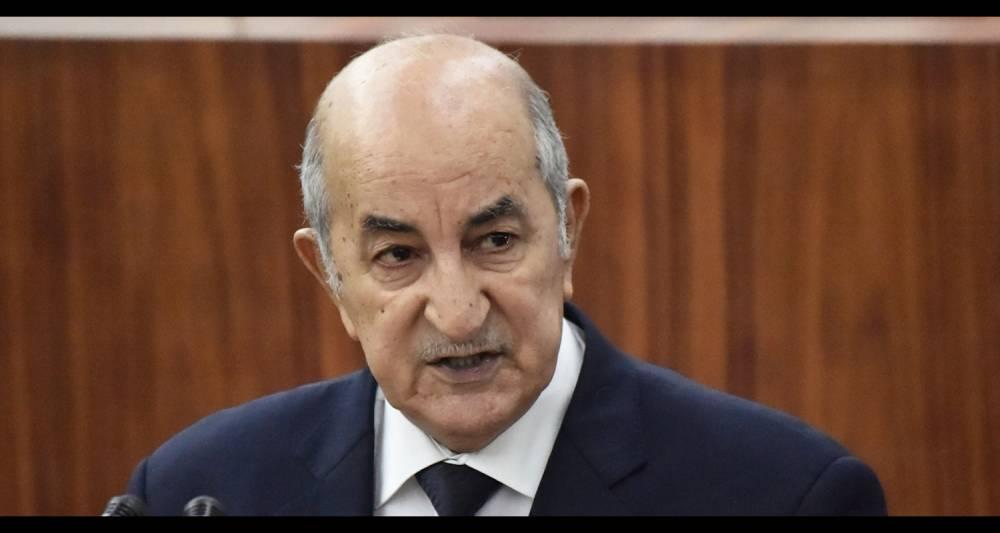 Abdelmadjid Tebboune a été démis de ses fonctions par le président algérien, Abdelaziz Bouteflika. ©  AFP/Ryad Kramdi