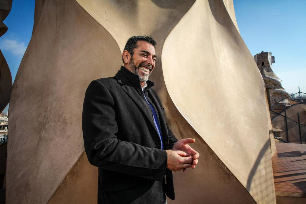 Victor Del Arbol, ecrivain catalan © Pierre MERIMEE/REA Pierre MERIMEE/REA / Pierre MERIMEE/REA