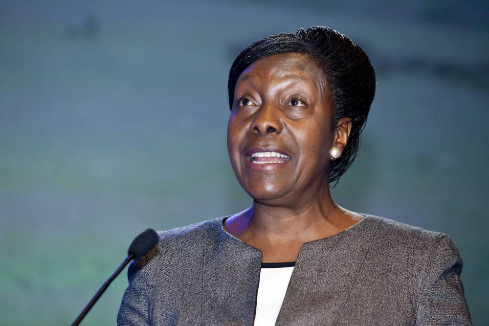 Charity Kaluki Ngilu, femme politique kényane et ancienne ministre.   ©  worldwaterweek/Flickr, CC BY