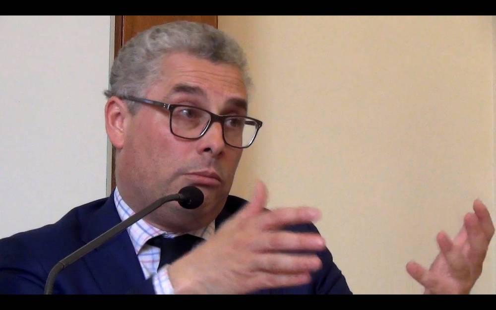 Emmanuel Dupuy préside l'Institut Prospective et Sécurité en Europe.  ©  Capture d'écran You Tube