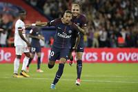 Neymar a été l'un des grands artisans du PSG face à Toulouse. ©THOMAS SAMSON