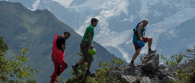 Le retour de Marc Batard, sprinteur de l'Everest
