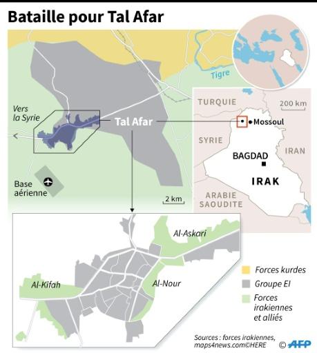 Bataille pour Tal Afar © Simon MALFATTO AFP