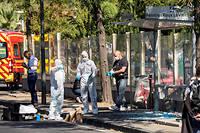 Le 21 août dernier, un homme en camionnette a foncé sur un abribus à Marseille, tuant une femme. La piste psychiatrique est privilégiée. ©Fabien Courtitarat