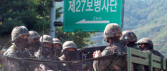 La tension monte encore d'un cran après l'annonce d'un essai nucléaire par la Corée du Nord.