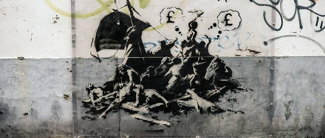 Une œuvre De Banksy Effacee Vif Emoi Chez Les Calaisiens Le Point