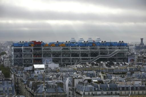 Le Georges Pompidou à Paris le 18 septembre 2015 © PATRICK KOVARIK AFP/Archives