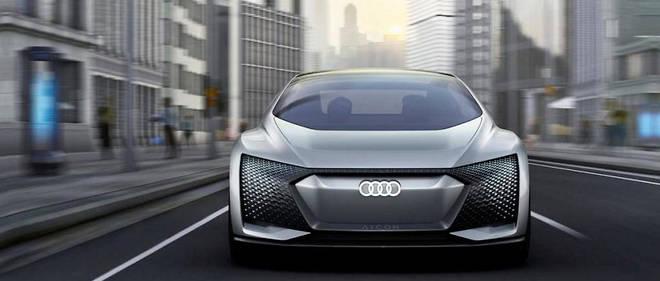 Pas de pédales, pas de volant, cette Audi Aicon fait tout toute seule