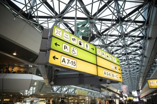 Vue intérieure des terminals A et B de l'aéroport de Tegel à Berlin, le 8 août 2017 © AXEL SCHMIDT AFP/Archives