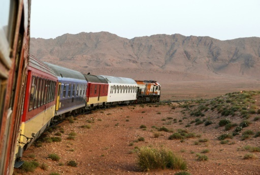 Au Maroc, le train du desert et de James Bond