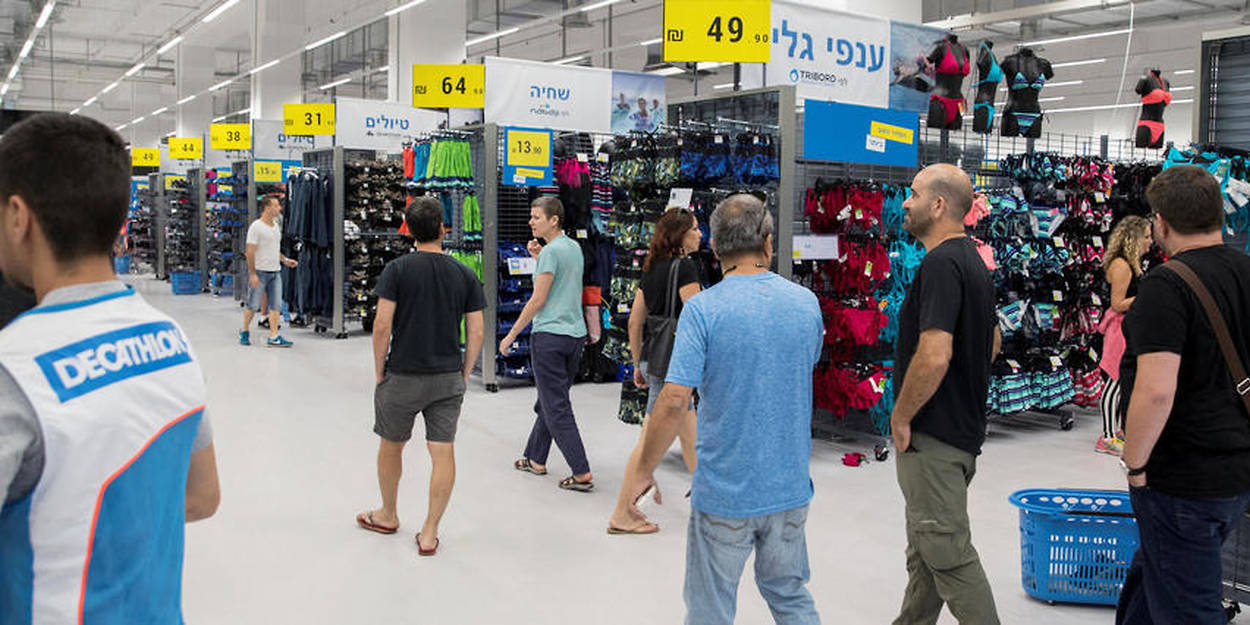 70fae051a2079 Israël : Decathlon démarre en trombe - Le Point