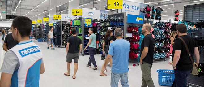 Le premier magasin Decathlon en Israël a ouvert ses portes fin août à Rishon Le Tsion, près de Tel-Aviv.