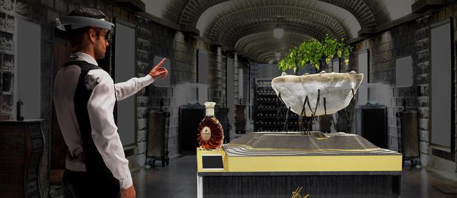 Les visiteurs pourront vivre un voyage sensoriel au cœur du cognac fine champagne, grâce au casque Microsoft HoloLens.