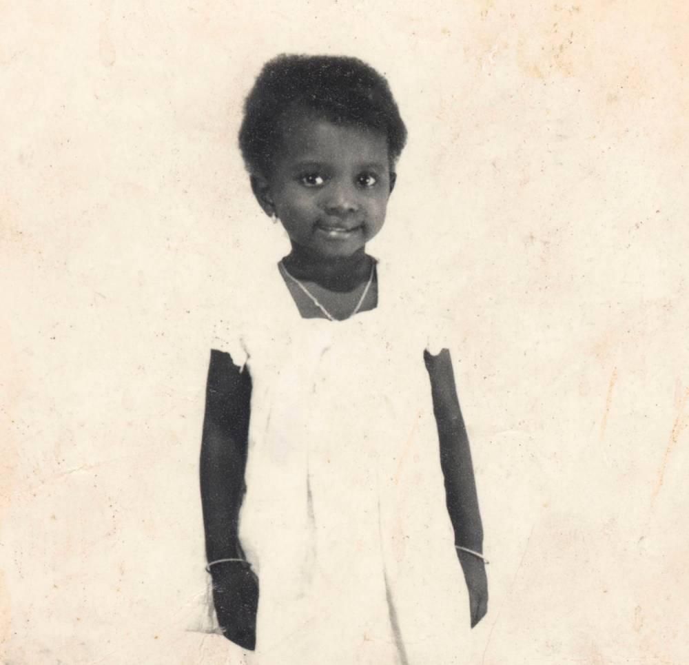 Angélique Kidjo enfant. ©  DR