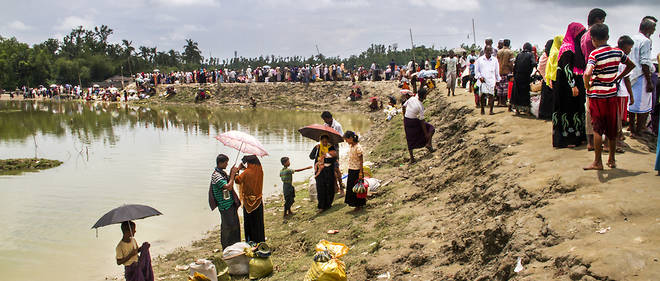 Plus de 400 000 Rohingyas ont fui la Birmanie depuis la fin du mois d'août.