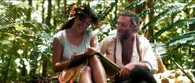 Le «primitif». Vincent Cassel se glisse fiévreusement dans la peau de Paul Gauguin lors de son premier voyage en Polynésie. Ici, il est au côté de Tehura, sa jeune muse et compagne tahitienne (Tuheï Adams).