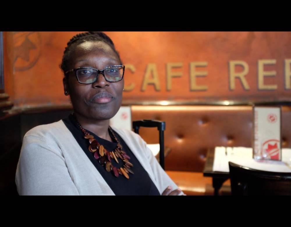"""La réalisatrice de """"Mariannes noires"""" Mame Fatou Niang. ©  DR"""