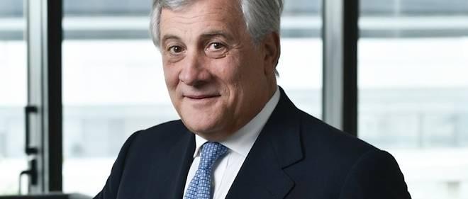 Antonio Tajani, président du Parlement européen, à Paris, le 22 septembre 2017.