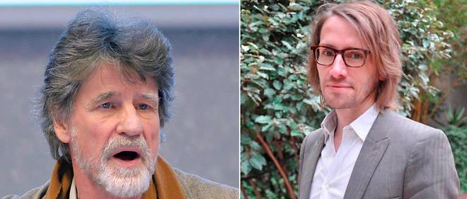 """Jean-Yves Boulin et Laurent Lesnard, les auteurs des """"Batailles du dimanche""""."""