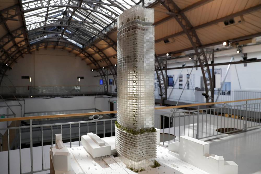 FRANCE-ARTS-ARCHITECTURE-MONTPARNASSE-TOWER © PATRICK KOVARIK PATRICK KOVARIK / AFP