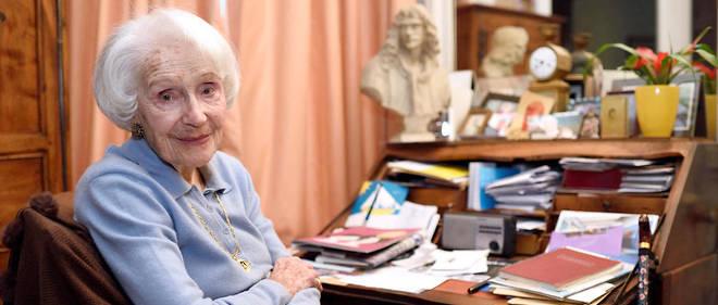 Gisèle Casadesus avait fêté ses 100 ans en 2014.