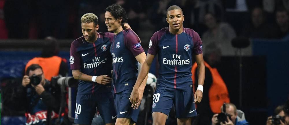 Le fameux trio d'attaque Mbappé-Neymar-Cavani s'est illustré une nouvelle fois.