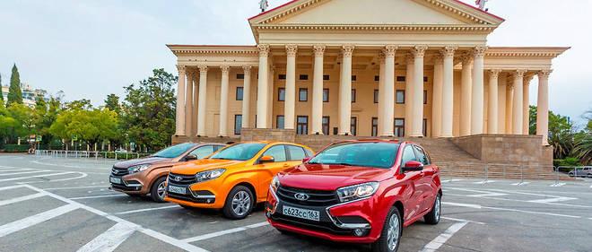 De Russe Grand Lada Voiture Renault Automobile Espoir La w8qXc