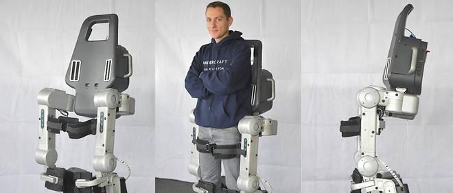 Wandercraft développe un exosquelette pour permettre aux handicapés de marcher.