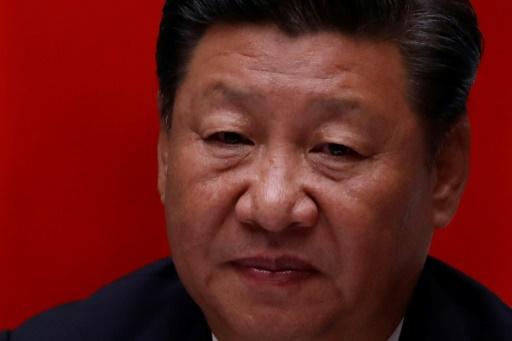 Le président chinois Xi Jinping lors du sommet des Brics, à Xiamen (province d Fujian) en Chine, le 4 septembre 2017 © TYRONE SIU POOL/AFP/Archives