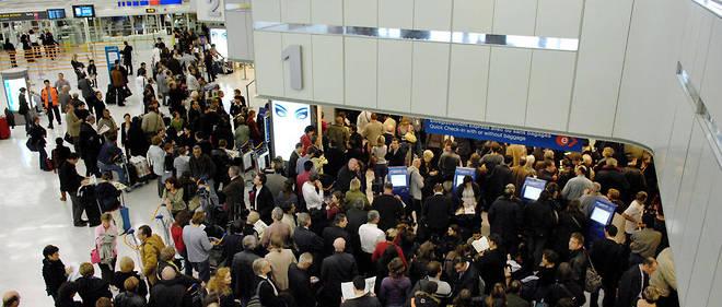 Une panne a cloué les voyageurs au sol dans les grands aéroports. (image d'illustration)