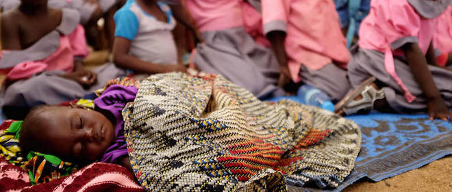 Il y a près de 50 000 enfants parmi les réfugiés actuellement présents au Cameroun.