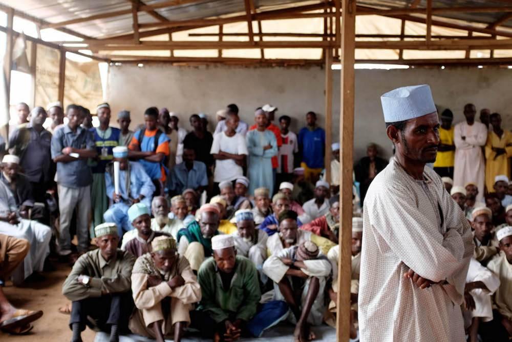 Les populations locales apprécient de pouvoir présenter leurs doléances, au-delà du gouvernement, aux humanitaires onusiens et autres dont la présence attire l'attention sur la crise silencieuse qu'elles vivent. ©  Xavier Bourgois/UNHCR