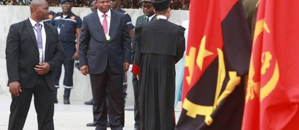 Le nouveau Président angolais, Joa Lourenco, à Luanda, le 26 septembre. ©  Ampe Rogerio/ AFP