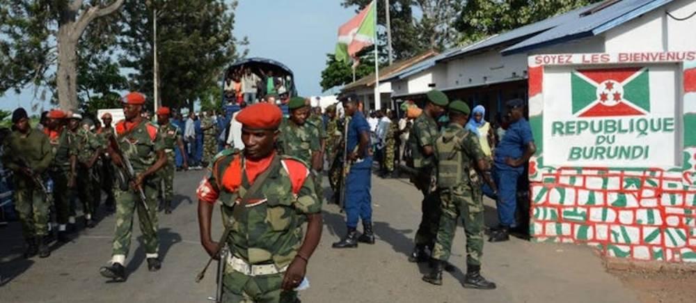 À la frontière entre le Burundi et la République démocratique du Congo, en janvier 2017. ©  Onesphore Nibigira/AFP