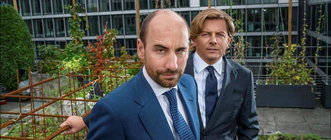 Leaders. Antoine Flammarion et Mathieu Chabran au siège de Tikehau, situé près du parc Monceau, dans le 8e arrondissement de Paris.