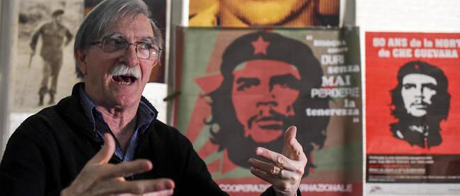 """Juan Martin Guevara, le frère d'Ernesto Guevera, de 15 ans son cadet, veut """"remplir le mythe de contenu et d'humanité""""."""