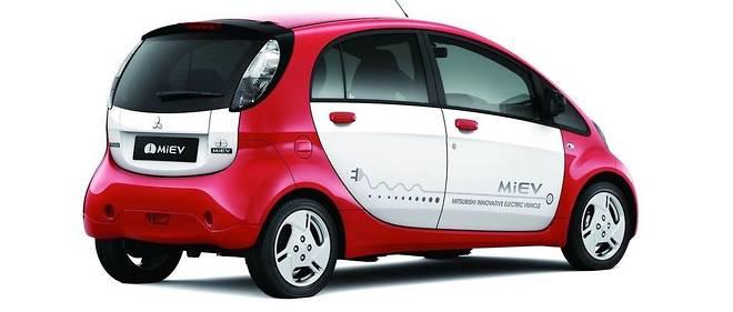La Mitsubishi i-Miev fait partie des voitures électriques utilisant la génération actuelle des batteries Toshiba SCiB.