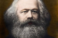 Portrait de  Karl Marx (1818-1883), 1878, collection Leemage.