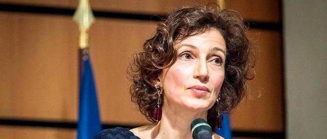 L'ancienne ministre de la Culture Audrey Azoulay.