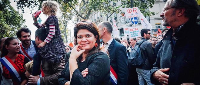 Raquel Garrido, le 23 septembre.