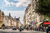 Inflation. À Paris (ici, le quartier du Marais), le prix du mètre carré a bondi de près de 7% en unan. ©Xavier POPY/REA
