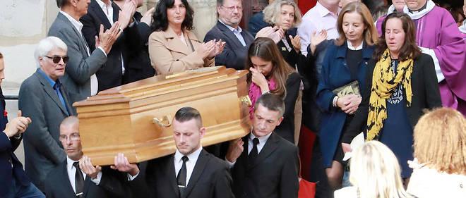 Les obsèques de l'acteur Jean Rochefort étaient célébrées en l'église Saint-Thomas-d'Aquin à Paris.