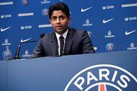 Nasser El-Khelaifi peut se réjouir : avec Neymar, le PSG change de dimension. ©THOMAS SAMSON