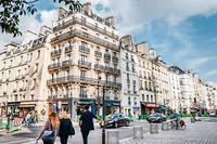 Record. Le 4e arrondissement se monnaie à plus de 11500€. ©Xavier POPY/REA