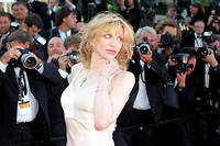 Courtney Love à Cannes en 2011. L'actrice dit avoir été bannie de la plus grande agence d'Hollywood, probalement en raison de sa franchise.