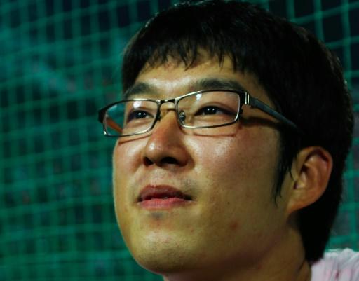 Photo obtenue auprès du festival international du film de Busan, en Corée du Sud le 17 octobre 2017 du réalisateur Park Bae-Il © HANDOUT AFP