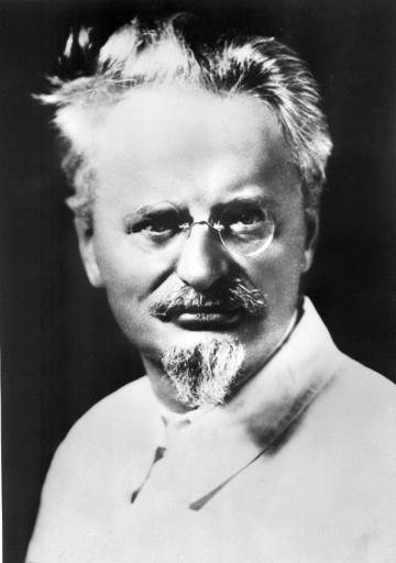 Portrait non daté de Lev Davidovitch Bronstein (1879-1940), dit Léon Trotski ©  AFP/Archives