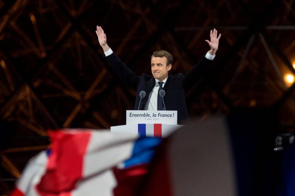 FRANCE2017 - VOTE - ELECTION - MACRON ©  Ilan Deutsch / Citizenside / AFP